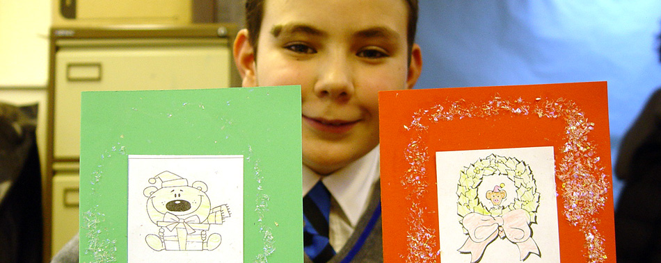 Year 8 French Christmas Cards