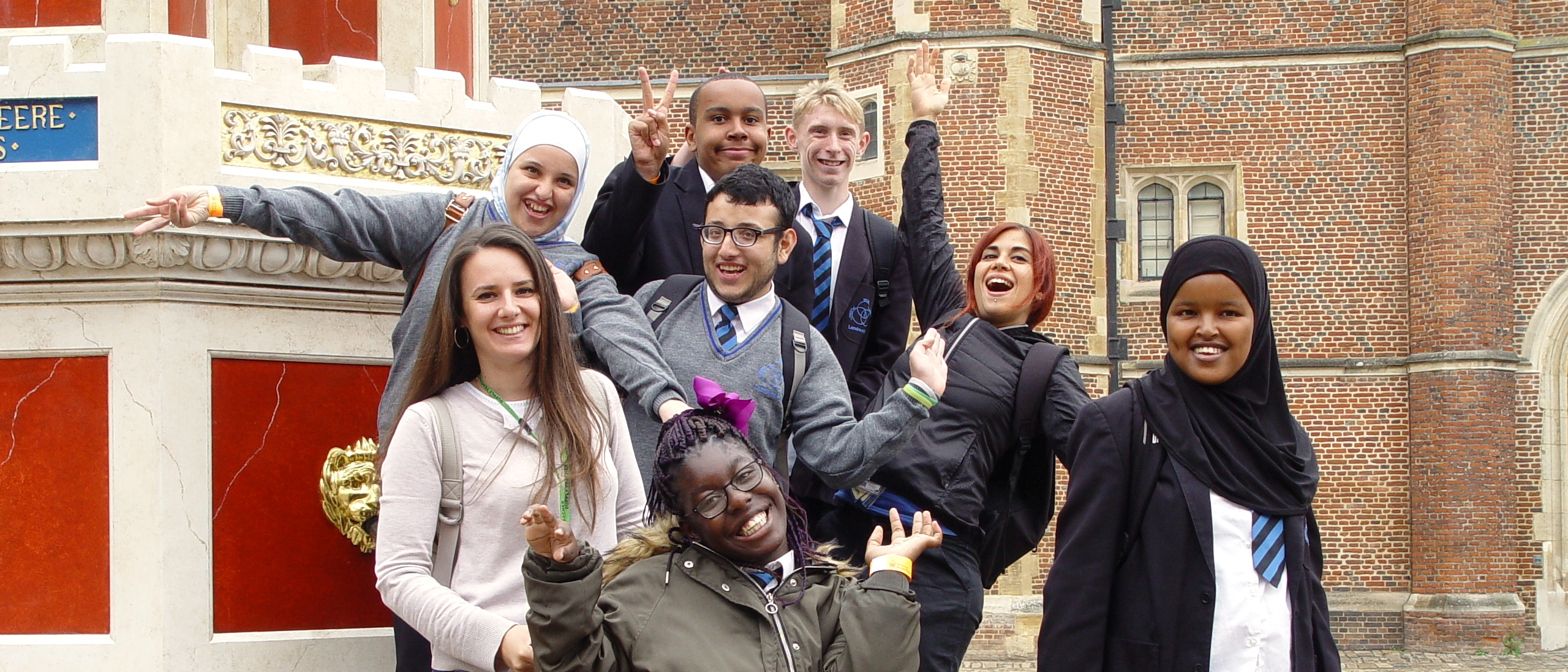 School Trip to Hampton Court Palace