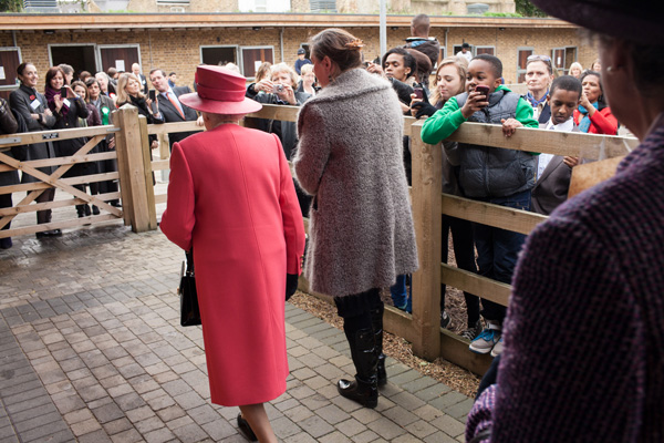 Her Majesty The Queen at the Ebony Horse Club
