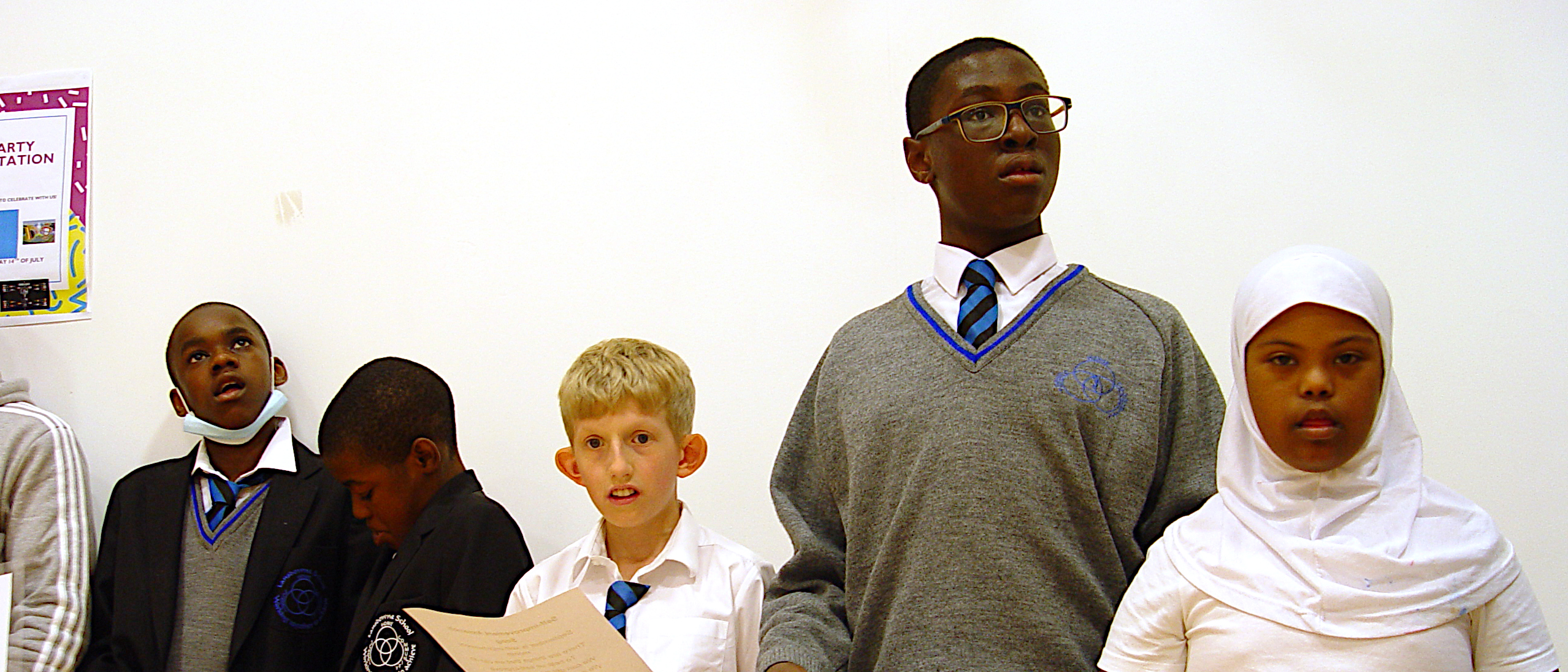 Year 8 Prepare for First Assembly